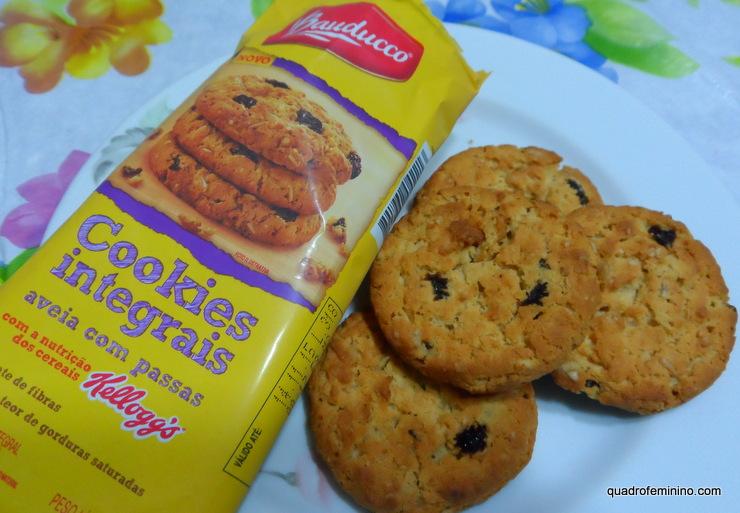 Cookies Integrais Aveia com Passas Bauducco