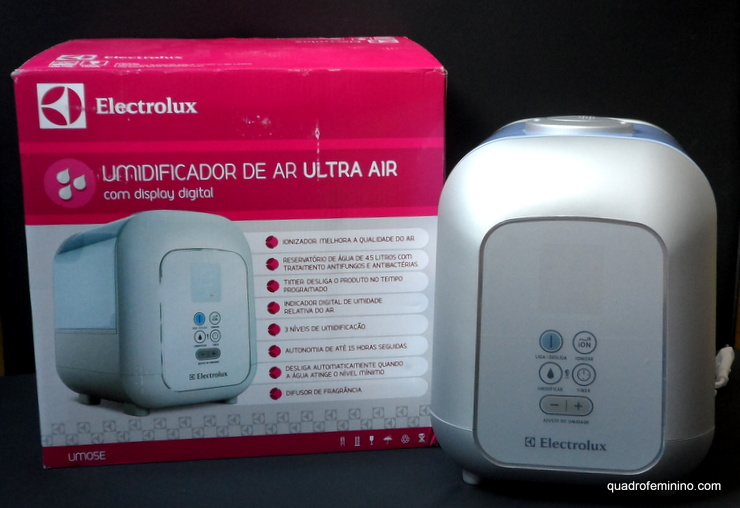 Umidificador de Ar Ultra Air Electrolux