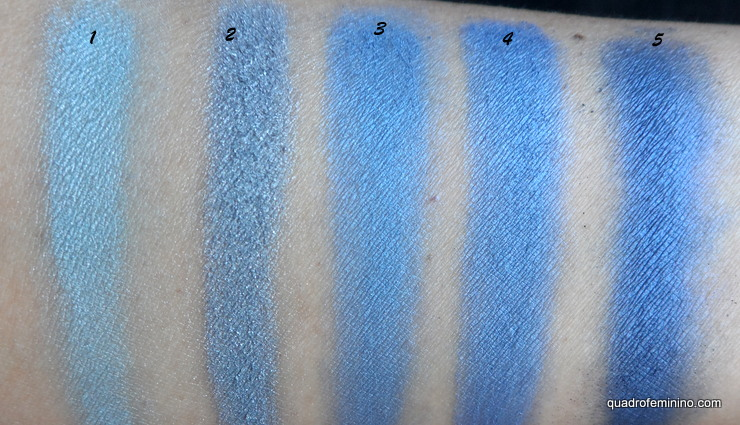 Fenzza Make Up Colors Ten Palette Soft - tons de azul