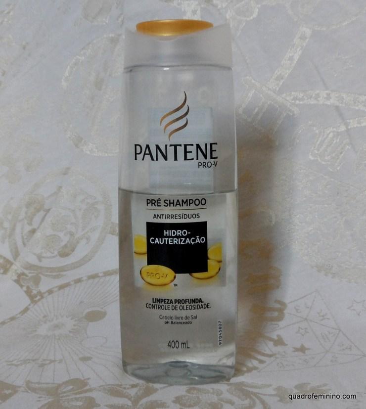 Pré Shampoo Pantene Antirresíduos Hidro Cauterização