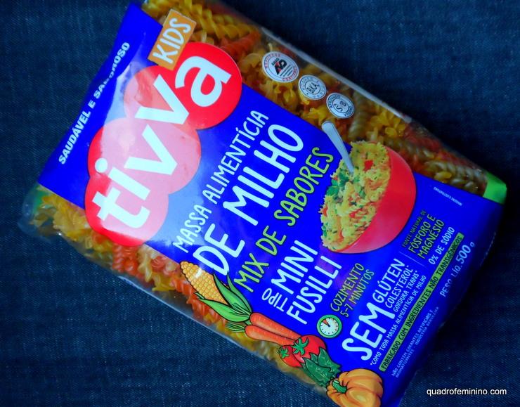 Tivva Mini Fusilli Kids - Mix de sabores