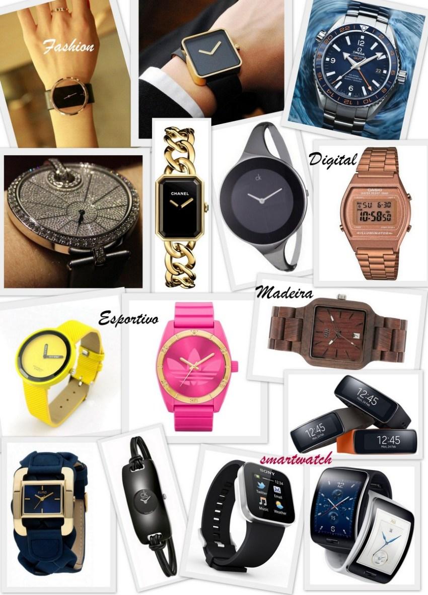 Modelos de relógios