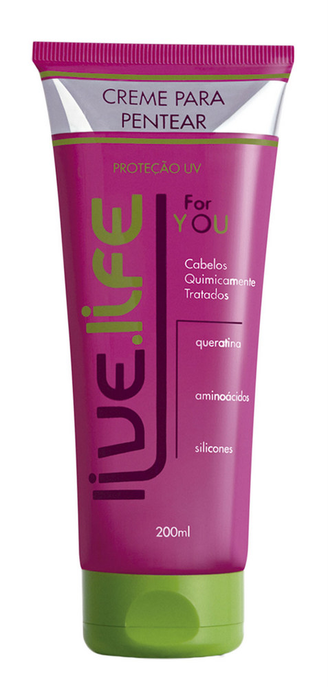 Creme para Pentear For You - Live Life Professional