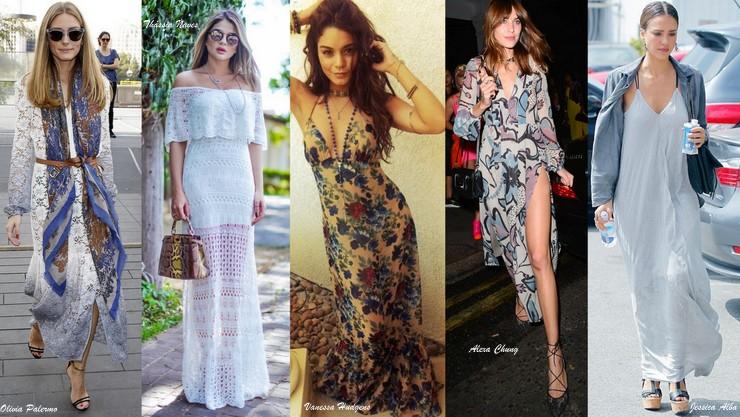 Maxi vestidos -fashionistas