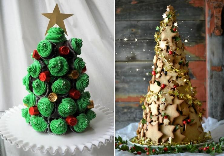 Árvores de Cupcake e Biscoitos