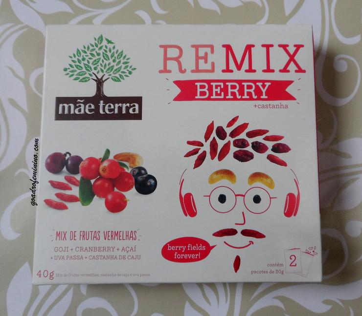 Remix Berry + Castanhas da Mãe Terra