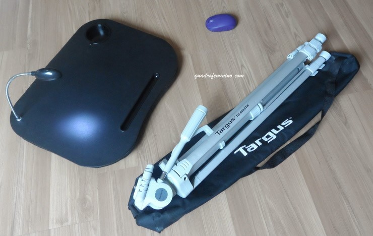 Comprinhas da wishilist - suporte para note, mouse wireless e tripé argus