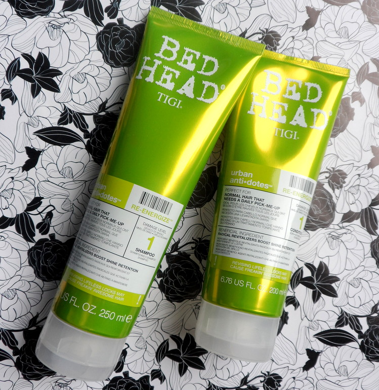 Re-Energize Shampoo e Condicionador - Urban Antidotes 1 - Bed Head by Tigi