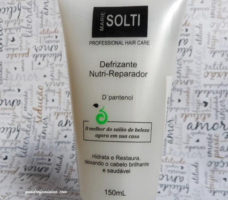 Defrizante Nutri-Reparador - Marie Solti