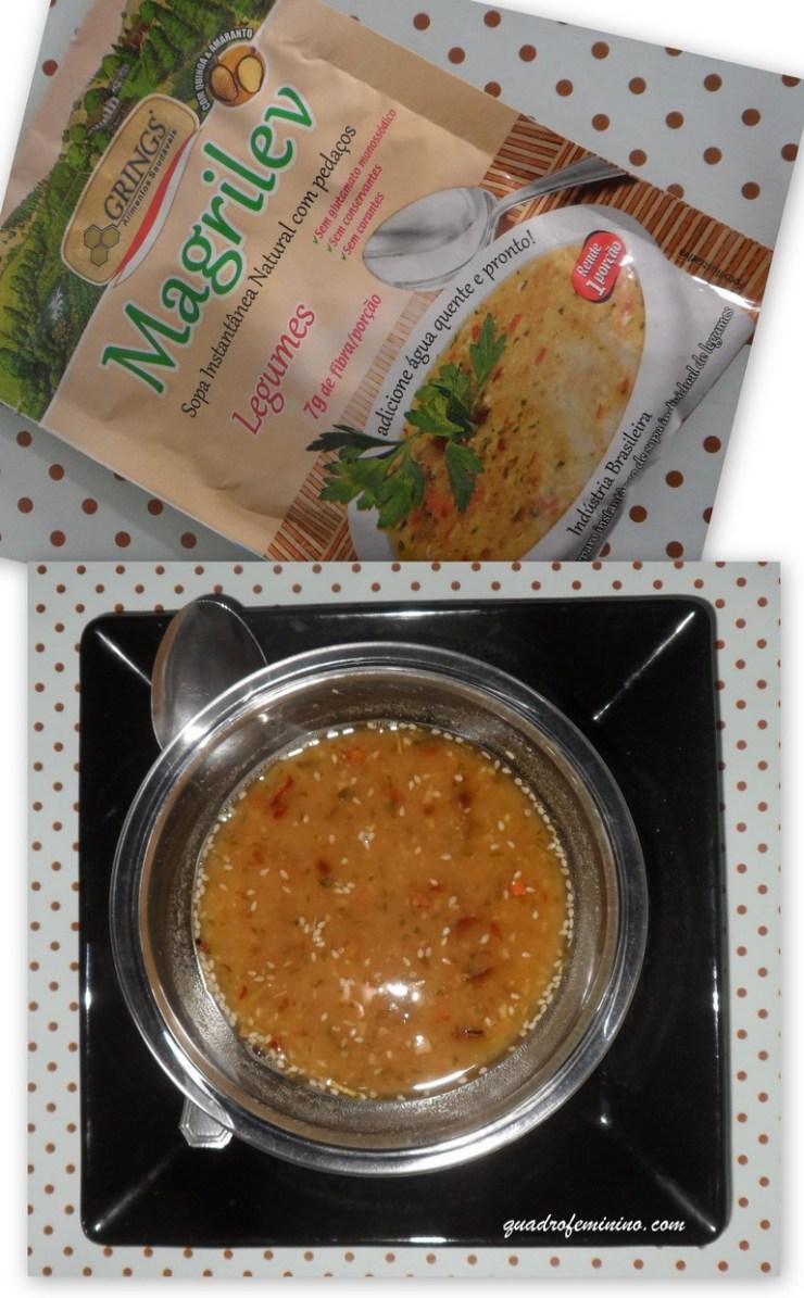 Sopa Magrilev Legumes - Grings