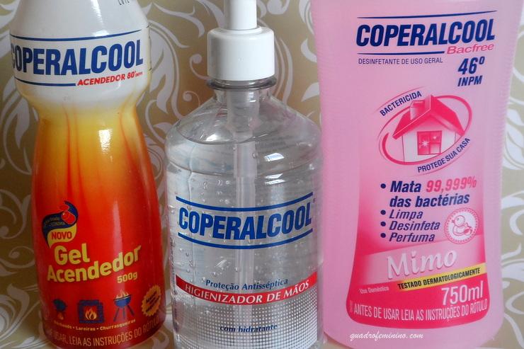 Coperalcool -Bacfree Mimo, Higienizador de Mãos e Gel Acendedor