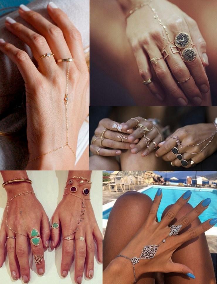 Hand Chain- anel de mão