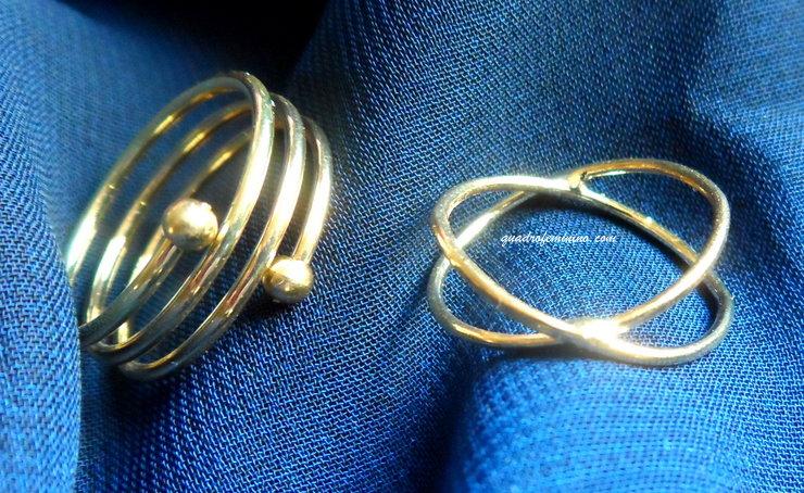 Mix de Anéis SammyDress - dourado