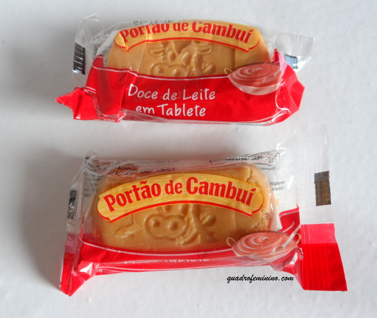 Portão de Cambuí - doce de Leite em tabletes