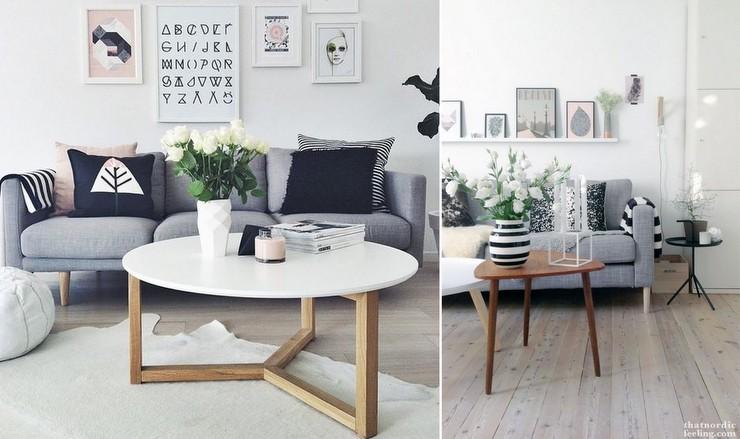 Sofá cinza - decoração