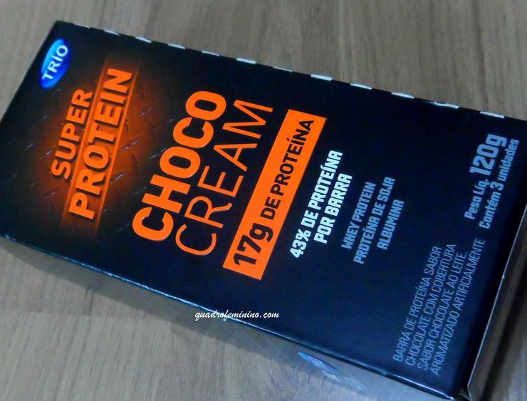 Barra de Proteína - Trio - Super Protein Choco Cream