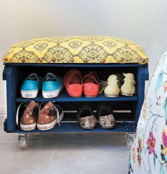 Organizando sapatos (2)