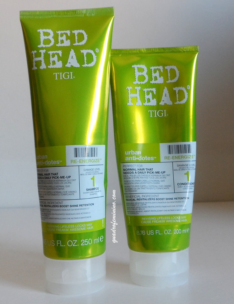 Urban Antidotes Re-Energize Tigi Bed Head - Shampoo e Condicionador