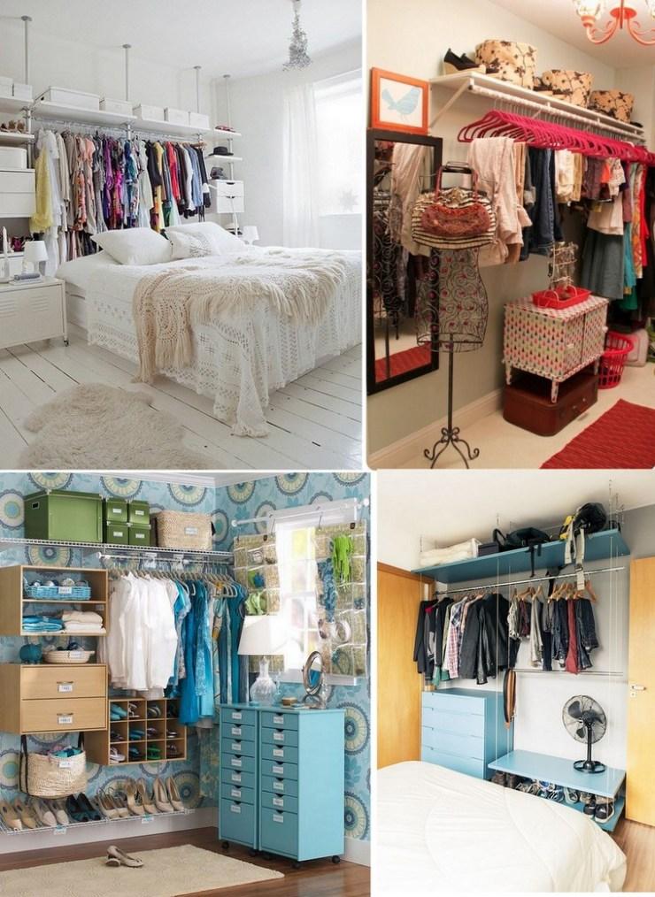 Closet para espaço pequeno