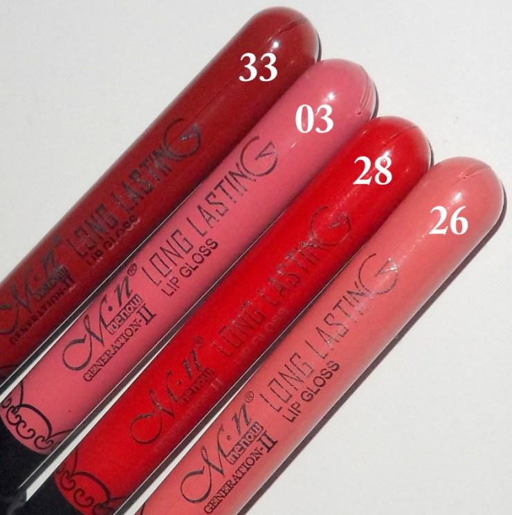 Batons Menow Long Lasting Efeito Matte