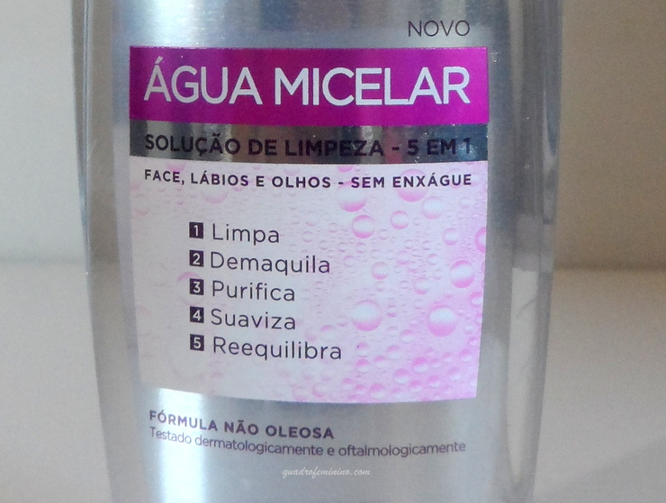 Água Micelar LOreal 1