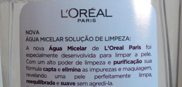 Água Micelar LOreal 3