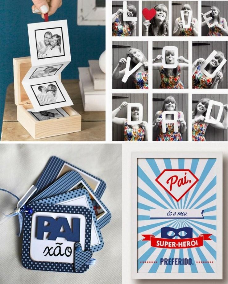 Fotos e impressão 3D - Dia dos Pais