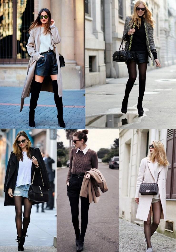 shorts e mini saias - inverno