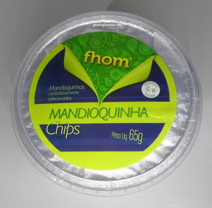 Chips de Mandioquinha Fhom - Kitanda