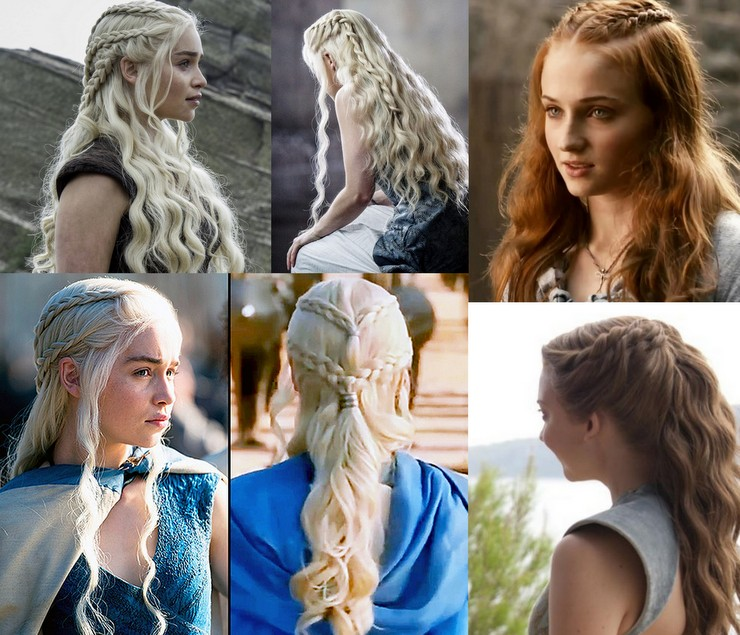 Tranças - GOT hairstyles