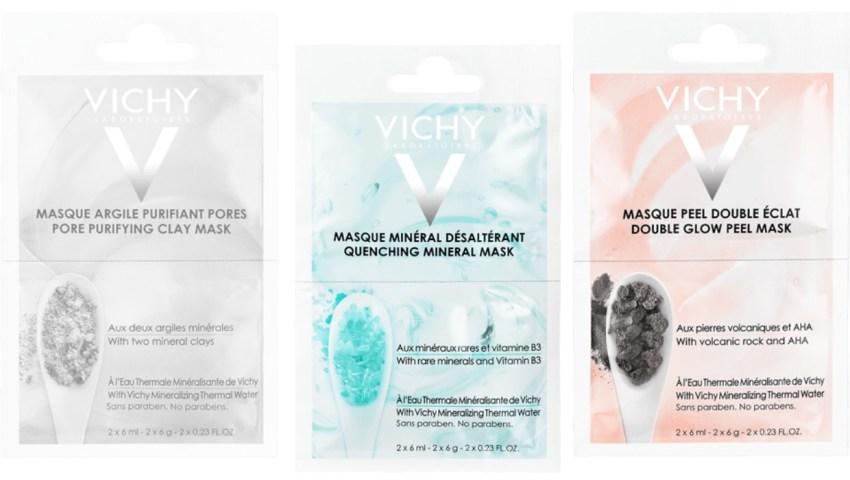 Máscaras Faciais Vichy