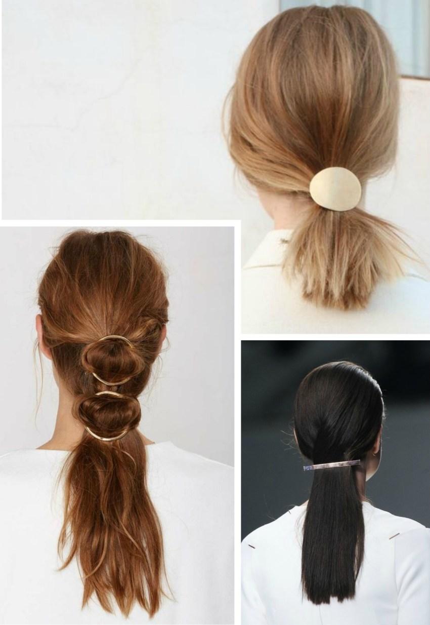 Penteados simples para o dia dia