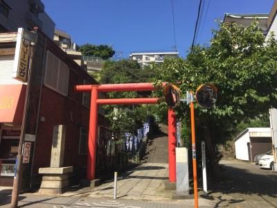 【大綱金毘羅神社】鶴屋町の先に平安時代末から祀られている横浜のこんぴらさん♪