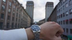 ビジネスと腕時計