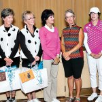 Southwest Spectacular Committee, left to right: Lynn Thomas, Beth Davis, Mary Lou Johnson, Dreama Fumia and Sherry Morris (co-chairs), Paula Scafuri and Cheryl Opsel; not pictured Susan Moberg