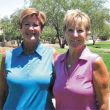 Congratulations to Carol Clifford and Karen Stensrud! They will be representing the QCLGA (18 holers) in the AWGA State Medallion Tournament in Phoenix next January.