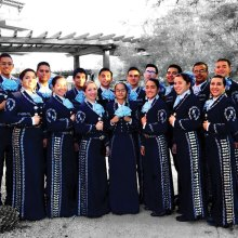 Mariachi Atzlan de Pueblo Magnet High School will entertain at the holiday luncheon.