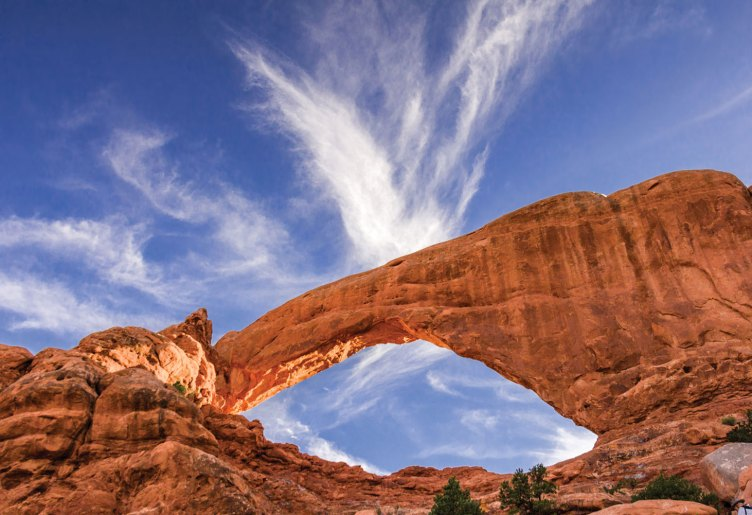 Larry Phillips' First Place image, South Arch Landscape