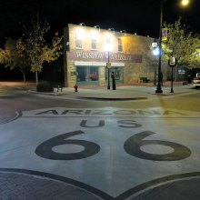 First Place, The Corner: Route 66, by Gary Carroll