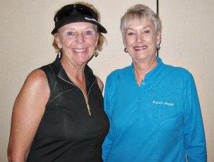 Jacquie Owens and Bonny Wilcox, chairwomen