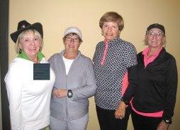 ht 2 winners (left to right) included: Kandi Ray, Cheryl Opsal, Alice Dyke and Kathy Printz; Photo by Terri Erickson.