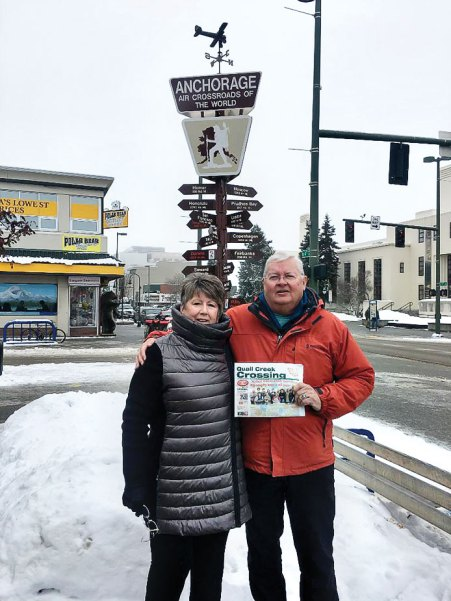 While other QC residents go south, Doug and Carol Mutter go north to Alaska hoping to find some sun in Anchorage.