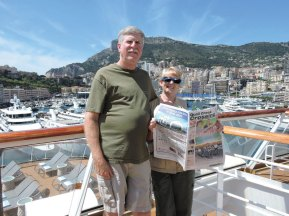 Diane and Henry Waldapfel recently enjoyed a Viking cruise from Barcelona to Venice and reconnected with previous Viking cruise mates.