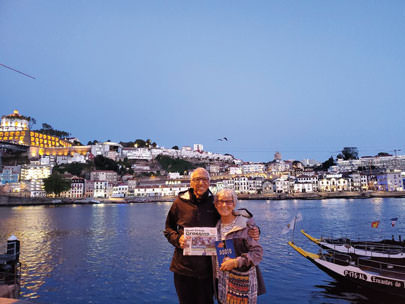 Denis and Barb Fiallos just returned from a 170-mile pilgrimage of the Camino de Santiago.