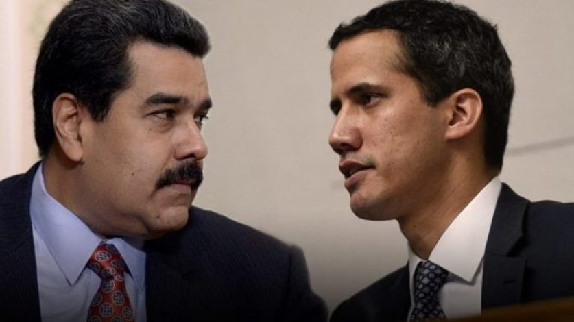 "<img src=""maduroandguaido.jpg"" alt=""Maduro and Guaido AKA an illustrative picture for Crossing the line post"">"