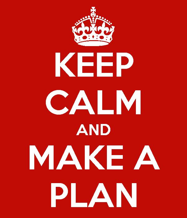 """Image result for """"make a plan"""" image"""