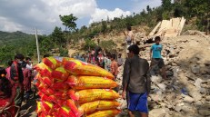 In Suryakot. As of yesterday (2 May), no individual or organization had brought them any food, tents or medical supplies.