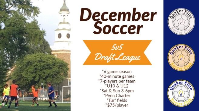 december soccer twitter