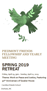 PFF/PFYM Spring Retreat graphic