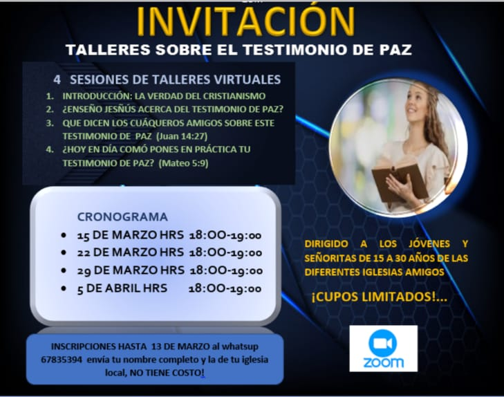 Talleres Workshops on Peace